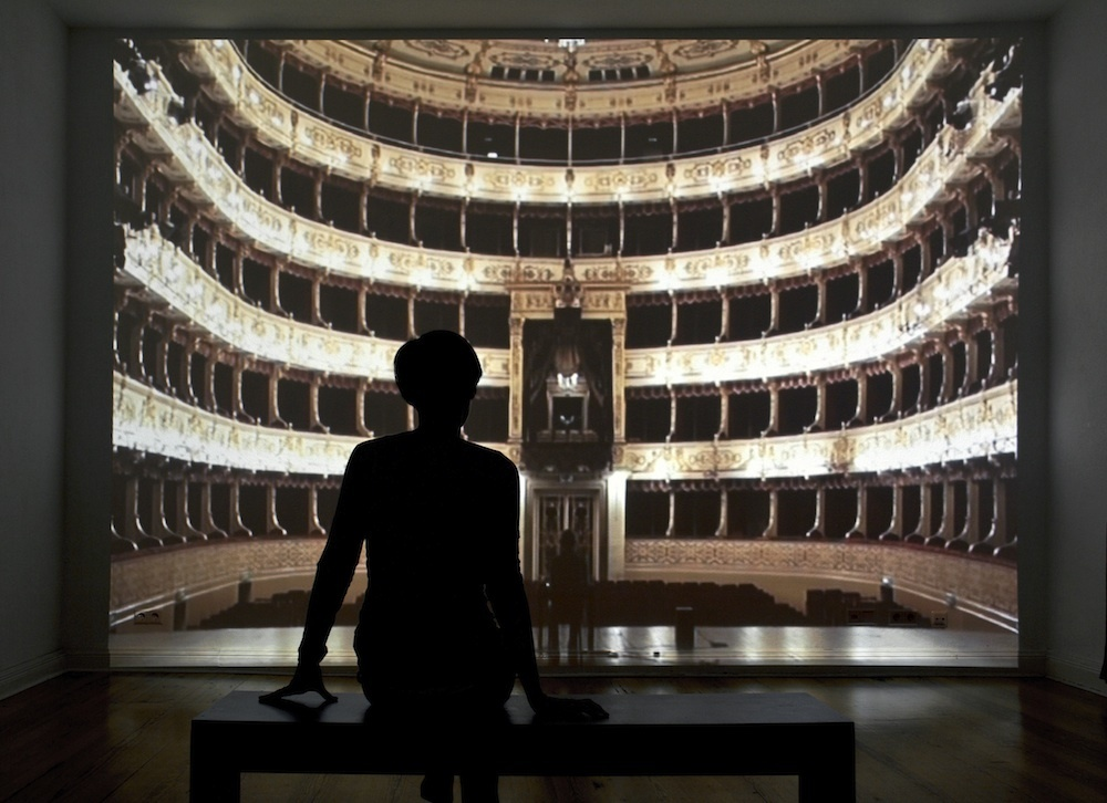 Michele Spanghero, Fenice (2016) video installation