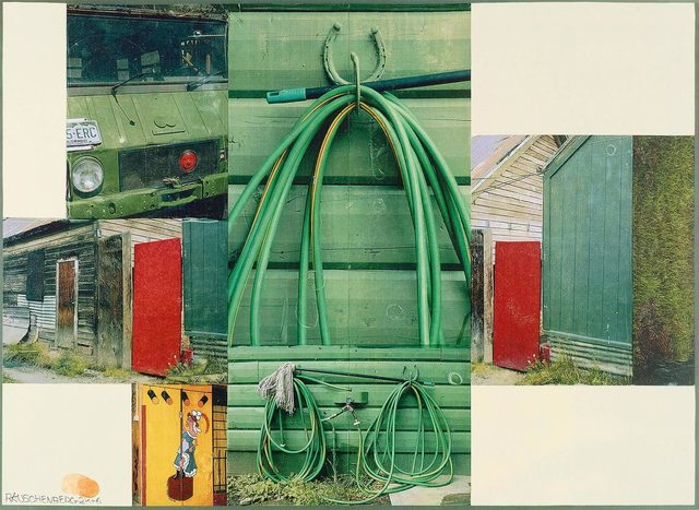Robert Rauschenberg, 'Algae', 2006/2007, Koller Auctions