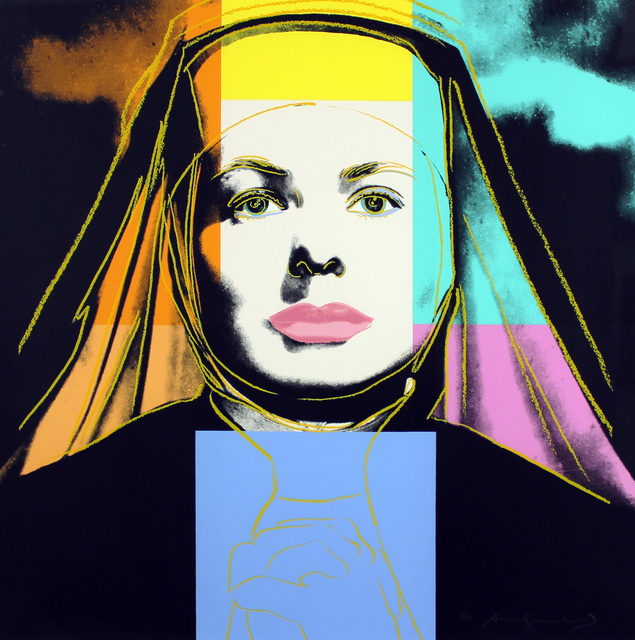 , 'Ingrid Bergman, The Nun (FS II.314),' 1983, Gormleys Fine Art