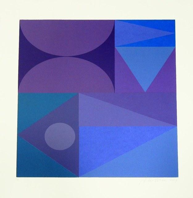 Antonio Peticov, 'Violet 3', 2019, Ligia Testa Espaço de Arte