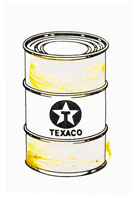 Beejoir, 'OIL CAN (Gold Hand Embellished)', 2010, Silverback Gallery