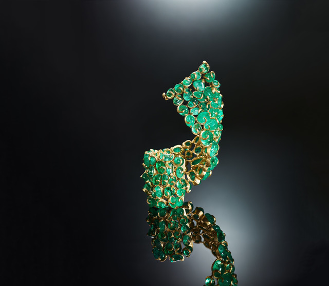 , 'Emerald Allure Bracelet,' 2019, Yvel