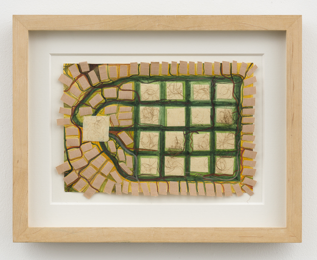 Franz Ackermann, 'Untitled (Mental Map: my private housing project)', 1994, David Nolan Gallery