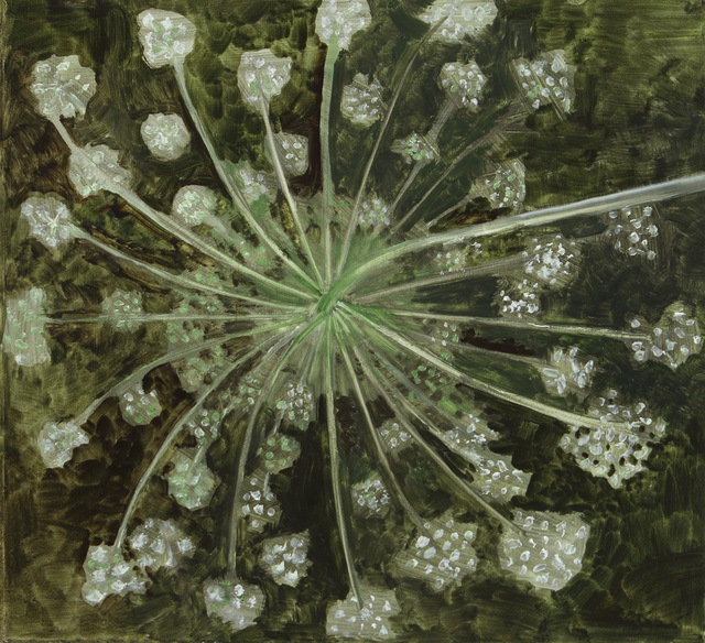 , 'Queen Anne's Lace, Backview of Head,' 2018, Alexandre Gallery