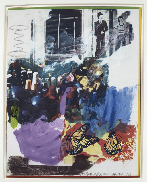 , 'Thai IX,' 1983, Academy Art Museum