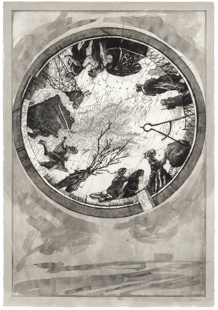 William Kentridge, 'Atlas Procession I', 2000, Hindman