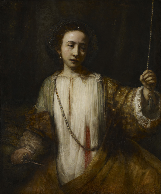 , 'The Suicide of Lucretia,' 1666, The National Gallery, London