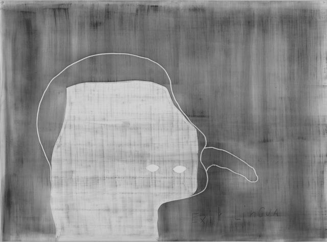 , 'Exit Lingua,' 2017, MLF   MARIE-LAURE FLEISCH