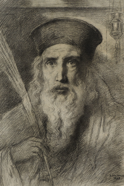, 'The Rabbi,' 1893, Ben Uri Gallery and Museum