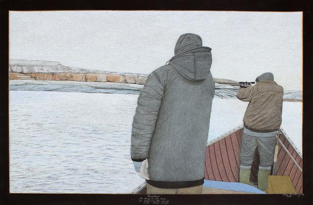 , 'Hunters,' 2013, Feheley Fine Arts