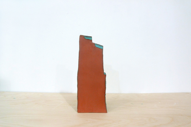 , 'Untitled (Brown with Blue Steps),' 2015, Jason McCoy Gallery