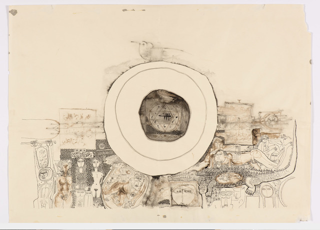 Ibrahim El-Salahi, 'Recollections', 1969, Vigo Gallery