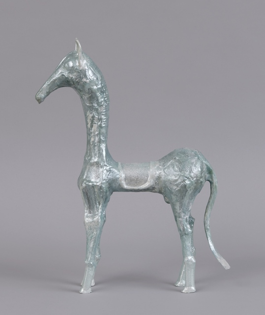 Shari Mendelson, 'Salon Horse', 2019, Sculpture, Repurposed plastic, resin, acrylic polymer, paint, mica, Jason Jacques Gallery