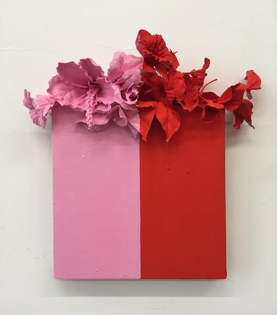 , 'Pink+Red,' 2018, Kahn Gallery