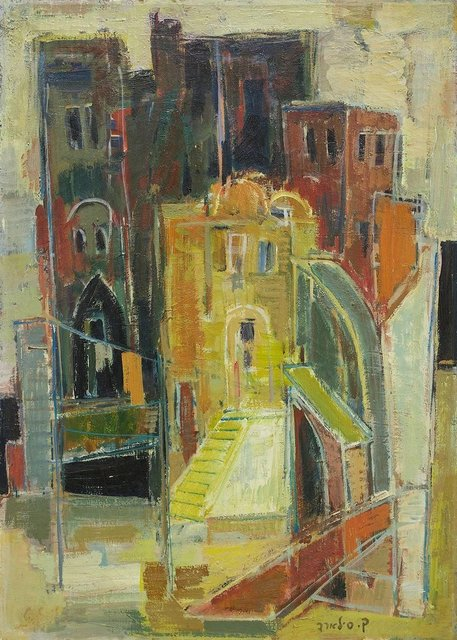 Claire Szilard, 'Rome (Milan) Italian Cityscape by Noted Hungarian Israeli Artist', 20th Century, Lions Gallery