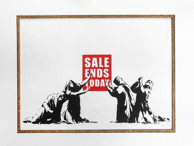 Banksy, 'Sale Ends Today (LA Edition- unsigned)', 2006, Robin Rile Fine Art