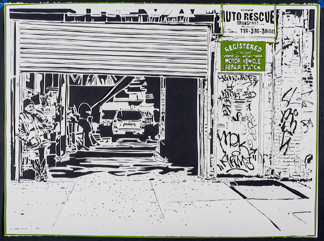, 'Garage,' 2012, Marion Gallery