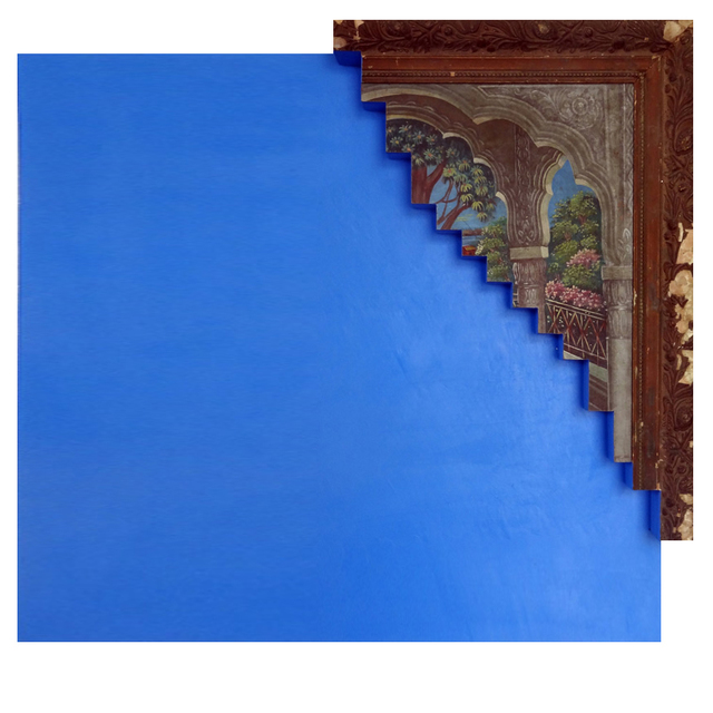 , 'The Blue Screen Series,' 2014-2015, Exhibit 320