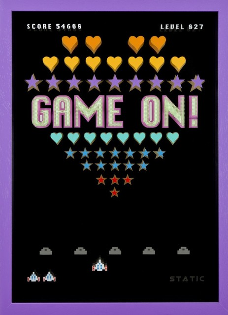, 'Game On! 1,' 2016, Lawrence Alkin Gallery