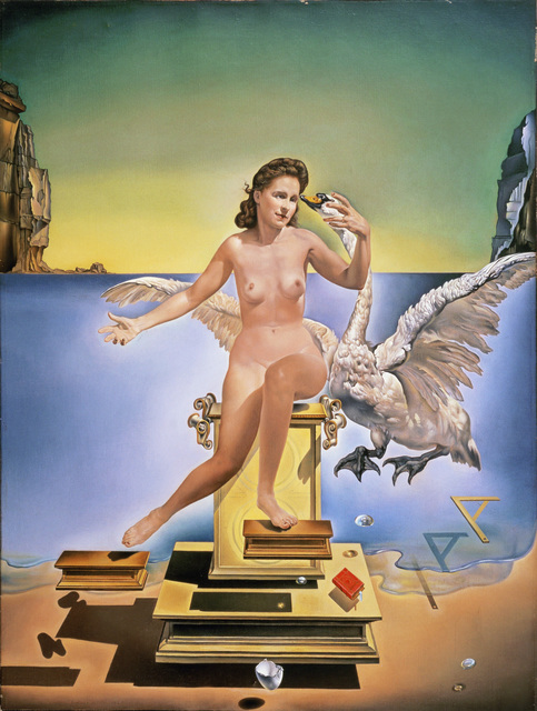 Salvador Dalí, 'Atomic Leda', 1949, Painting, Oil on canvas, Erich Lessing Culture and Fine Arts Archive