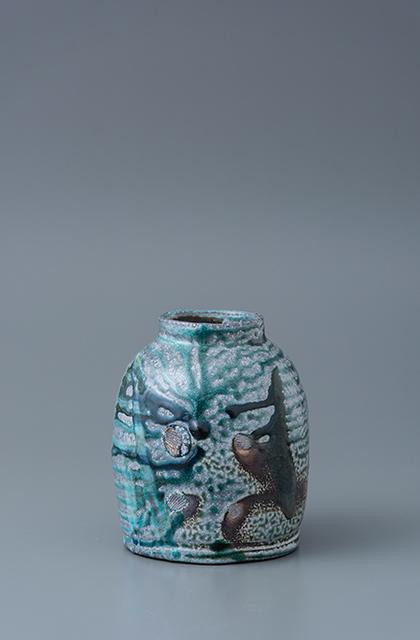 , 'Vase, yohen soda glaze,' , Pucker Gallery