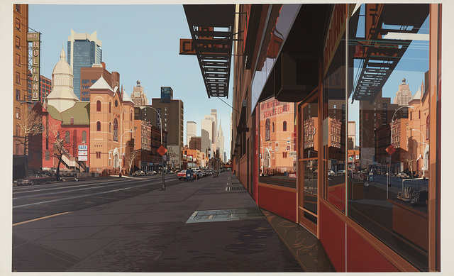 Richard Estes, 'Holland Hotel', 1984, Phillips