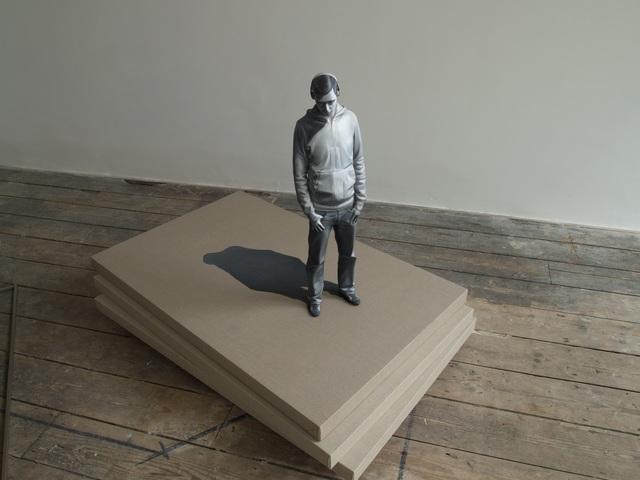 Dae-hun Kwon, 'Chalna-A man & Headphone I', 2012, Gallery LEE & BAE