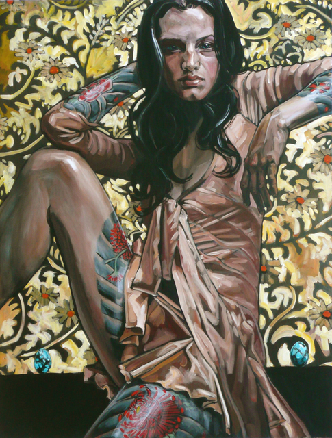 , 'Woman with Turquoise Eggs,' 2011, Gallery at Zhou B Art Center