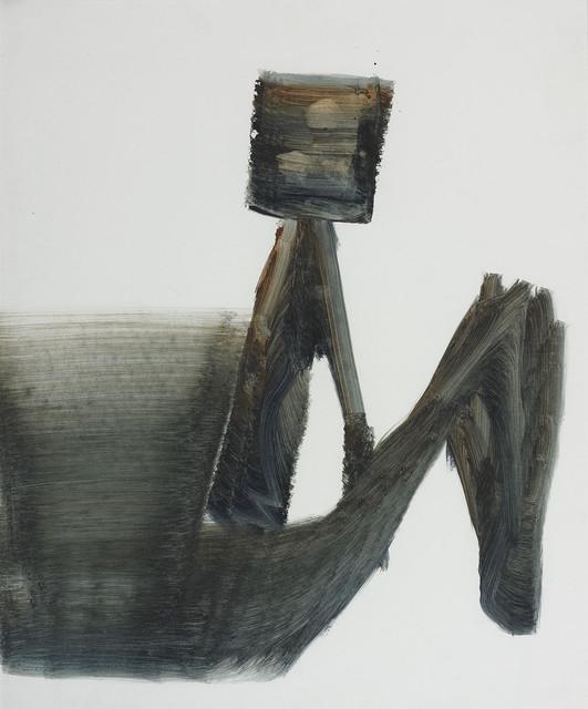 Sidney Nolan, 'Kelly and Horse ', 1961, Painting, Mixed media on paper, Christopher Kingzett Fine Art
