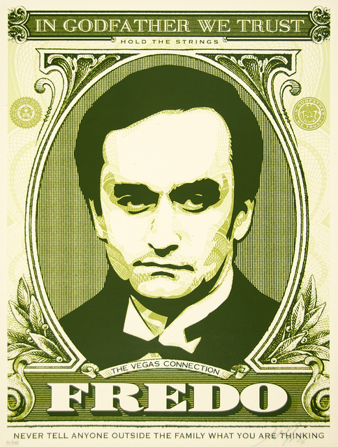 Shepard Fairey (OBEY), 'Fredo (God Father Matching Numbers Set)', 2006, Heather James Fine Art Gallery Auction