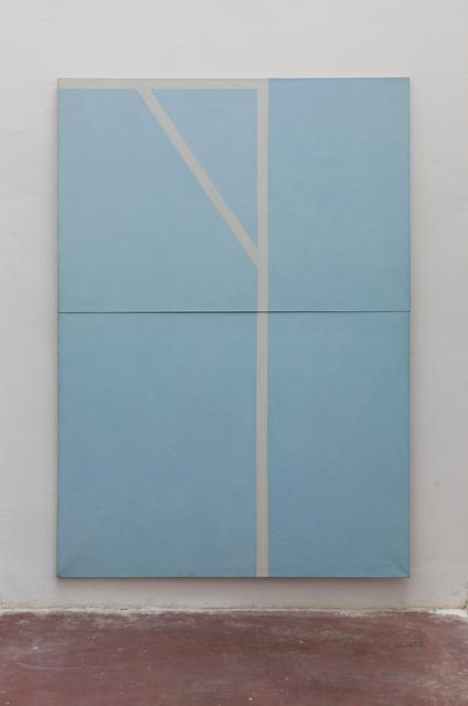 , 'Blue and white ,' 1977, Dvir Gallery