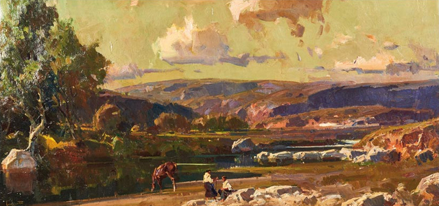 , 'Landscape with Figures,' , Gallery 901