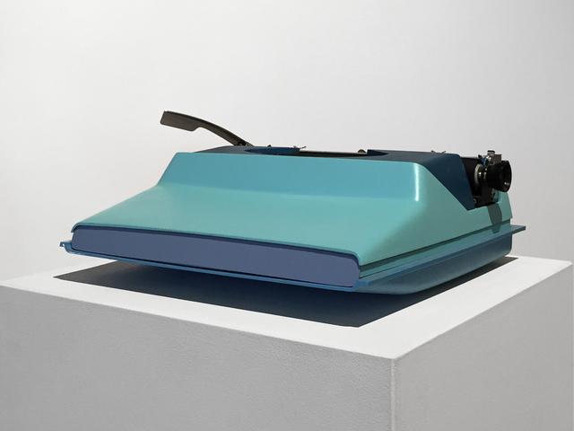 , 'Keyless Typewriter,' 2015, Fleisher/Ollman