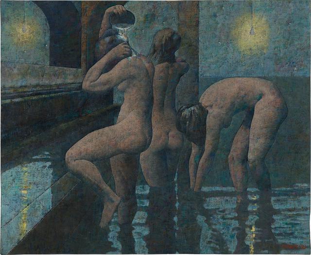 Armando Morales, 'Trois Baigneuses', 1993, Phillips