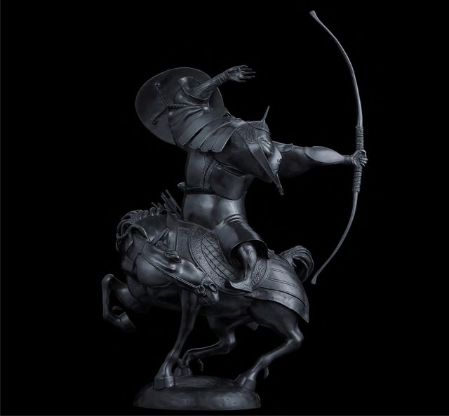 , 'Horseman,' 2000, Gallery Khankhalaev