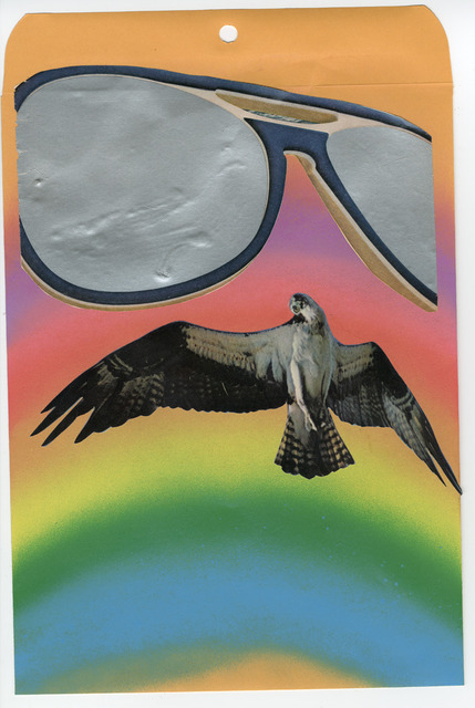, 'Self Portrait (Sunglasses Hawk),' 2012, Lazarides