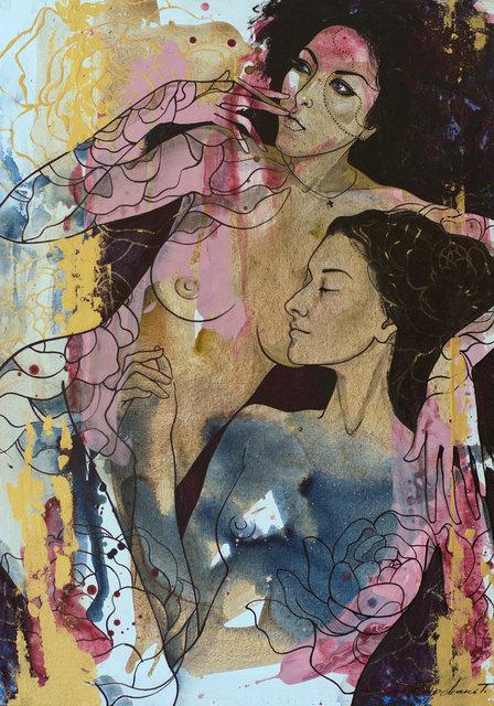 Tetiana Cherevan, 'Black is my veil ', 2018, Recreational Enterprises & Perseus Gallery