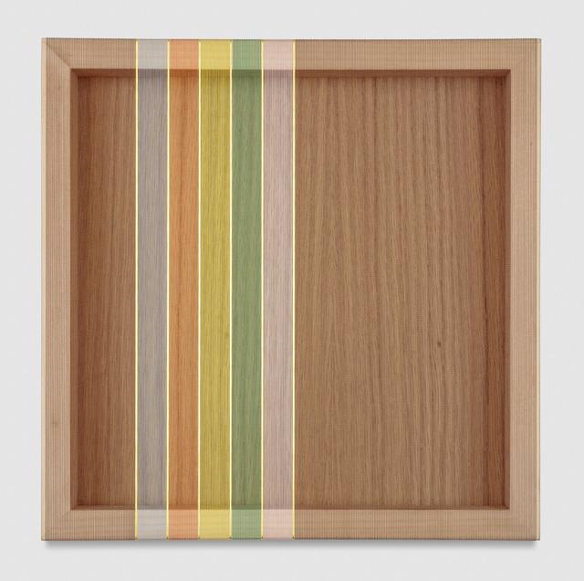 , 'Untitled (Brown Hovering Thread),' 2017, PRAZ-DELAVALLADE
