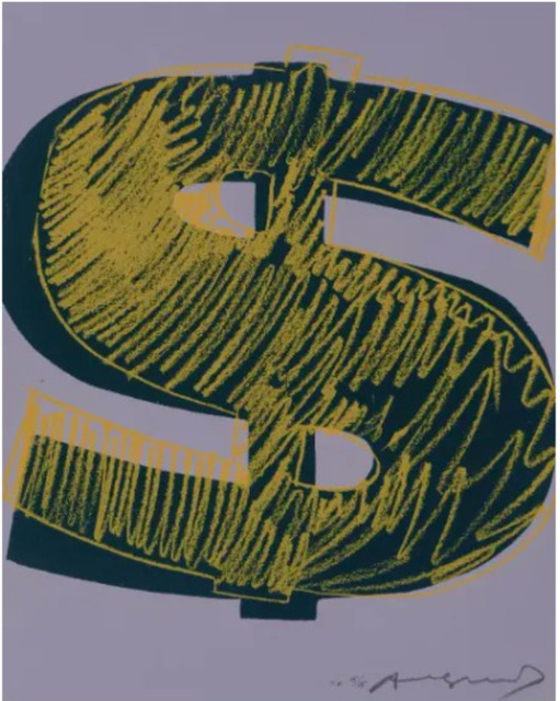 Andy Warhol, 'Single Dollar $ F.S. II 276', 1982, Lush Art Agency