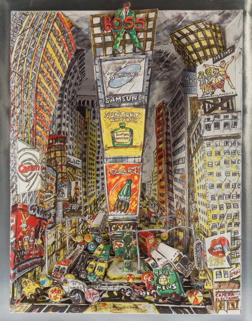 Red Grooms, 'The Boss at Times Square', 1995, Heritage Auctions