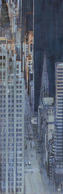 , 'Fifth Ave from The Top at Night,' , Hugo Galerie