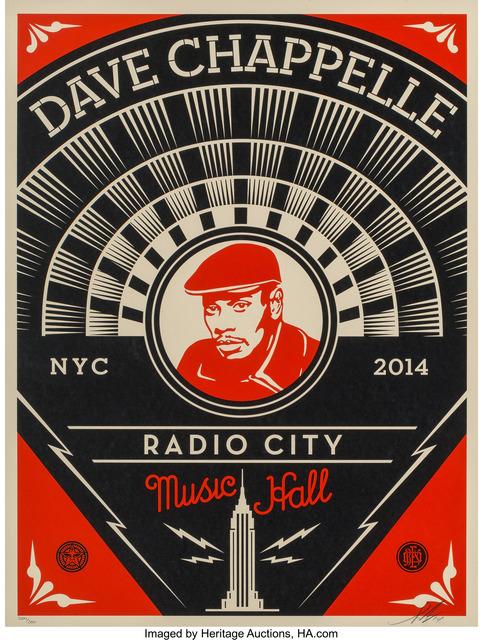 Shepard Fairey, 'Dave Chappelle', 2014, Heritage Auctions