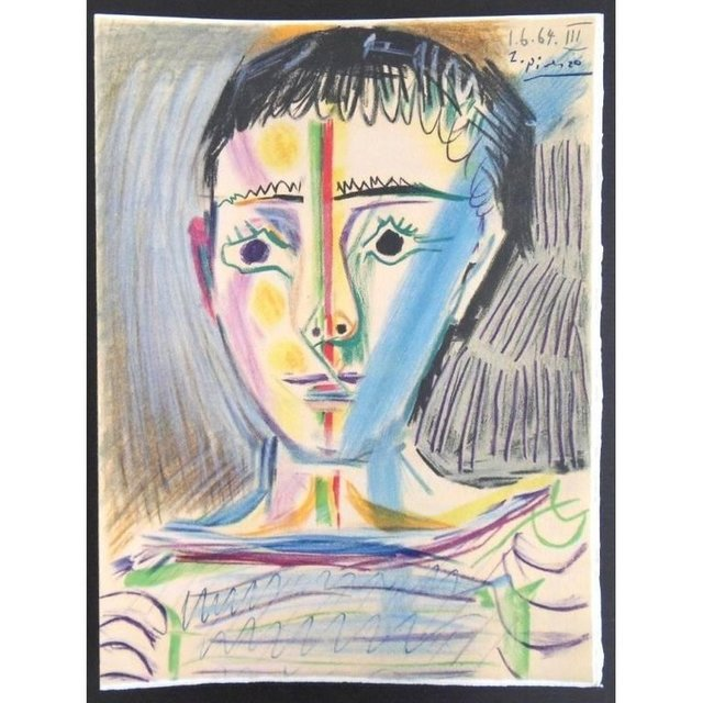 """Pablo Picasso, 'Lithograph """"Child III"""" after Pablo Picasso', 1965, Galerie Philia"""