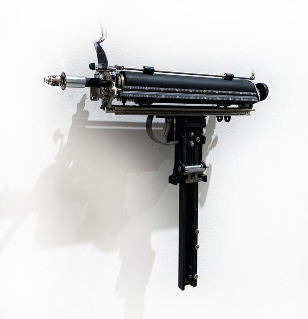 Ravi Zupa, 'MIGHTIER THAN--SUBMACHINE GUN', 2019, MAIA Contemporary