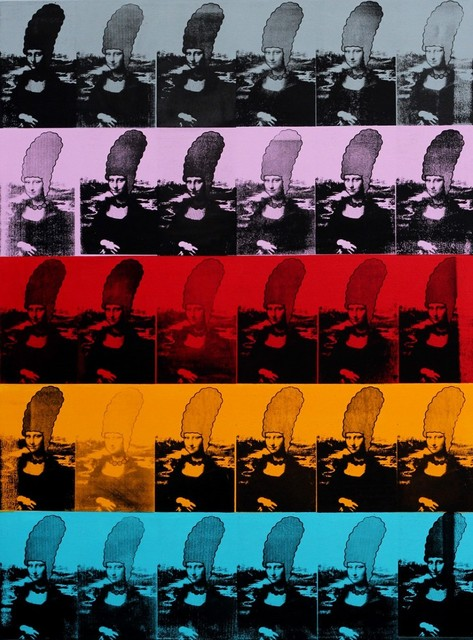 , 'Multiple Mona ,' 2015, Rhodes