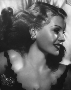 , 'Rita Hayworth,' ca. 1940, Staley-Wise Gallery