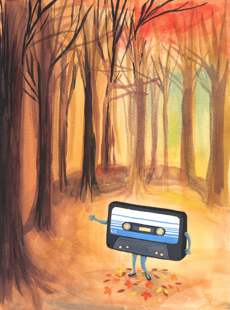 , 'Autumn tape,' 2016, Federico Luger (FL GALLERY)