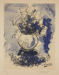 Georges Braque, 'Bouquet. Fleurs à l'aquarelle,' 1957, Phillips: Evening and Day Editions (October 2016)