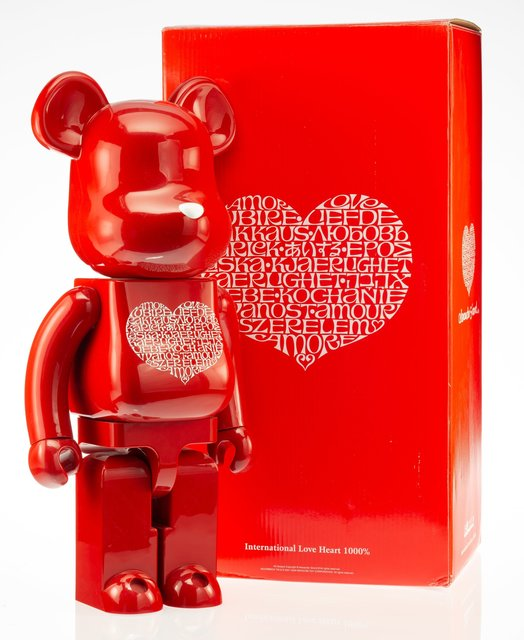 BE@RBRICK X Alexander Girard, 'International Love Heart 1000%', 2009, Heritage Auctions