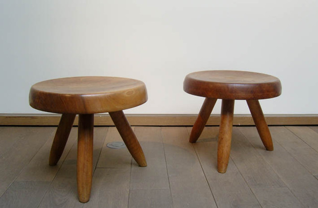 Charlotte Perriand, 'Low Stool', Jousse Entreprise